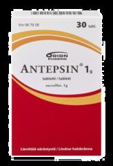 ANTEPSIN 1 g tabl 30 fol