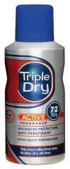 TRIPLE DRY MENS ACTIVE FRAGRANSPRAY 72H   150 ML
