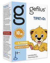 Gefilus Apteekkarin Tipat + D3 X2x7,5 ml
